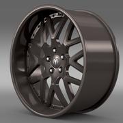 Dodge Vin Diesel Felge 3d model