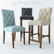 Brookline Tufted Collection 3d model