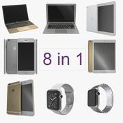 Apple Electronics 3D Models Collection 3 3d model