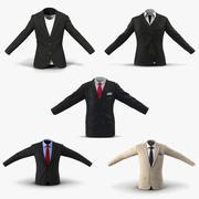 Коллекция пиджаков 3d model