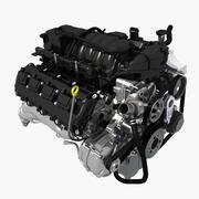 エンジンV8 3d model