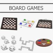 Giochi da tavolo 3d model