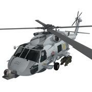 西科斯基MH-60R海鹰美国海军 3d model