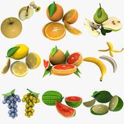 Mega Fruit Collection 3d model