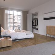 现实的室内Vray 3d model