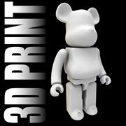 3D Baskı BearBrick 3d model