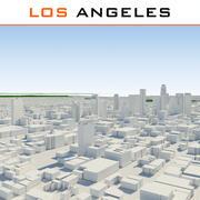 ロサンゼルス市完成 3d model