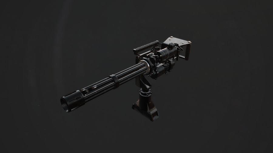 ミニガン royalty-free 3d model - Preview no. 2