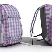 Sport Backpack 3d model