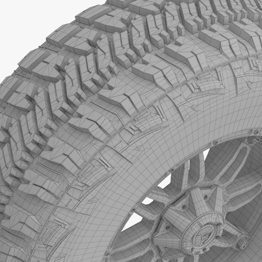 越野轮好年和燃料 royalty-free 3d model - Preview no. 10