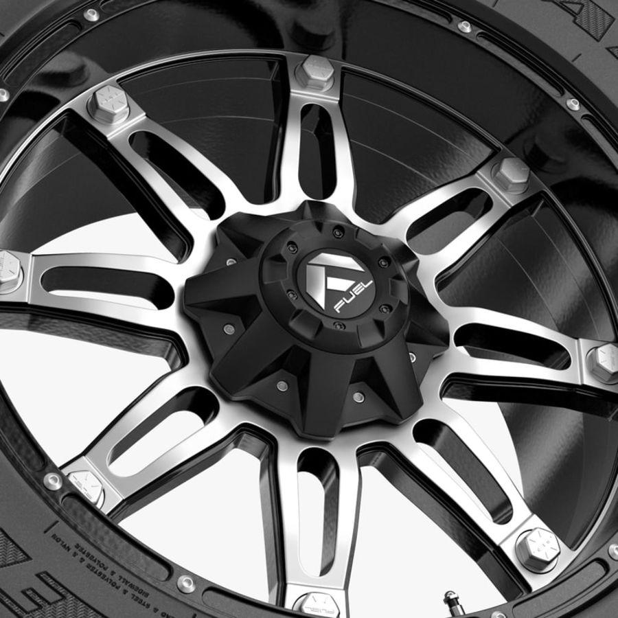 越野轮好年和燃料 royalty-free 3d model - Preview no. 3