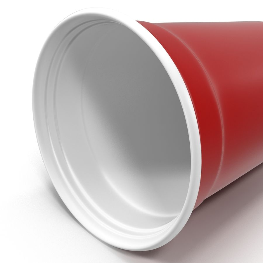 Solo Cup royalty-free 3d model - Preview no. 9