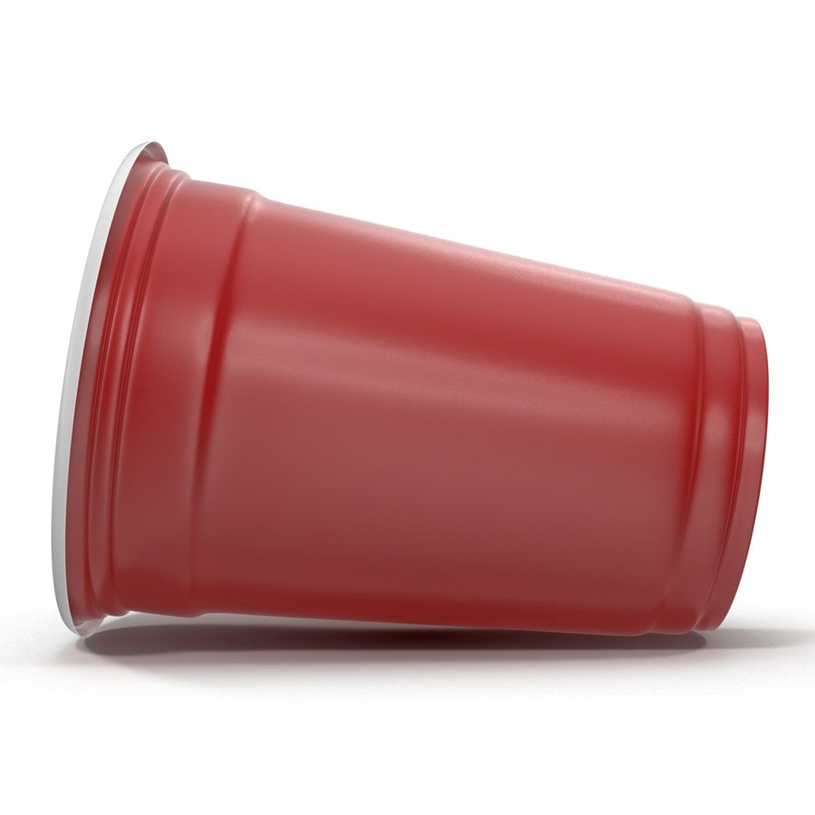 Solo Cup royalty-free 3d model - Preview no. 8