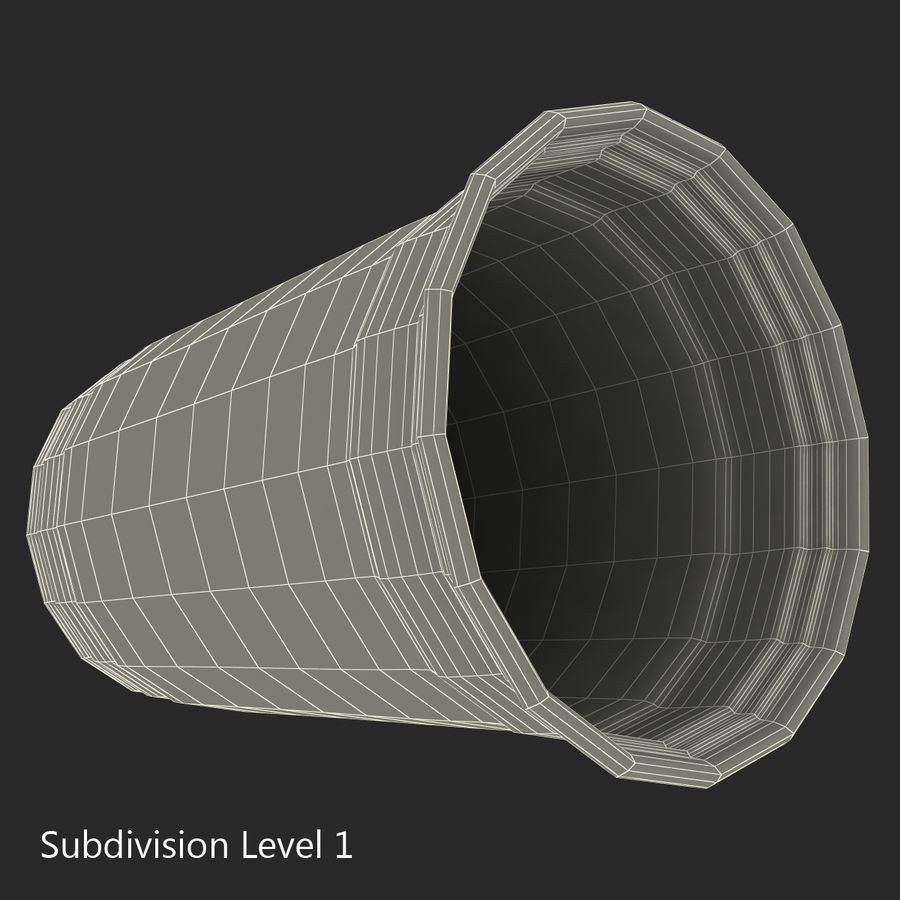 Solo Cup royalty-free 3d model - Preview no. 14