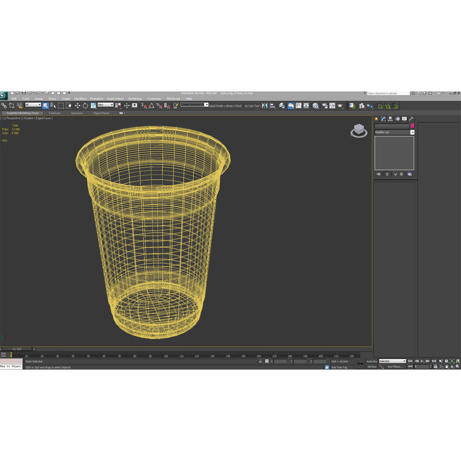 Solo Cup royalty-free 3d model - Preview no. 16