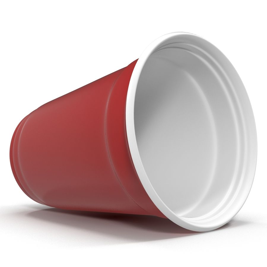 Solo Cup royalty-free 3d model - Preview no. 5