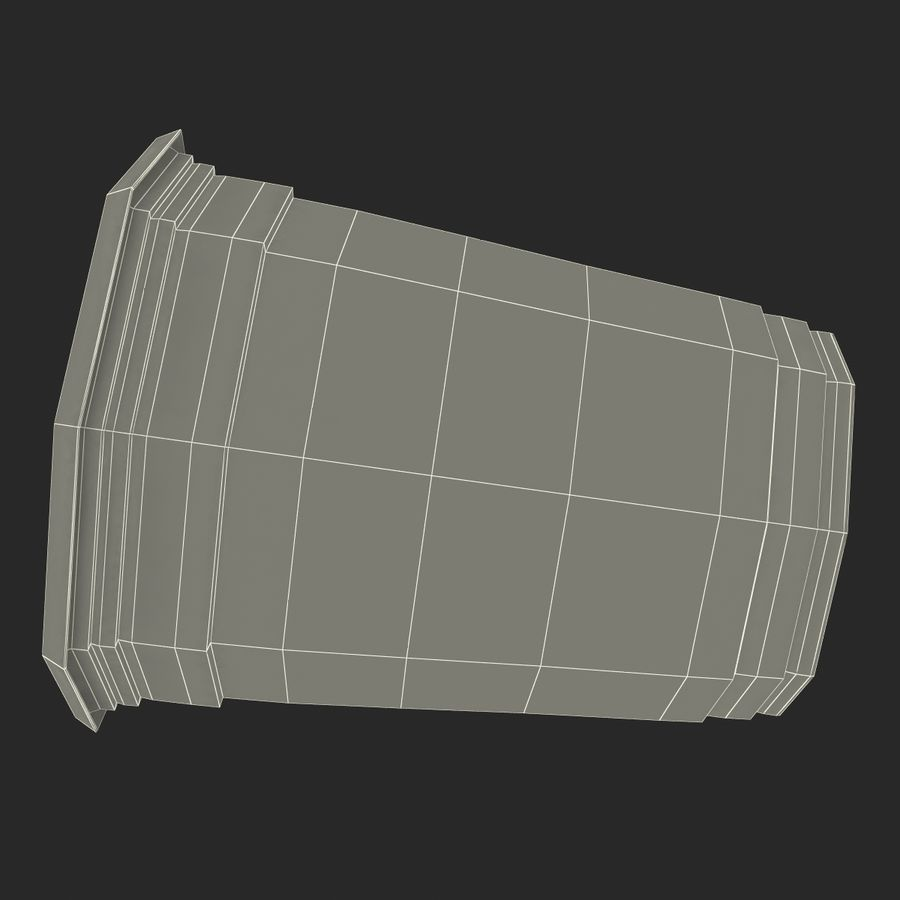 Solo Cup royalty-free 3d model - Preview no. 20
