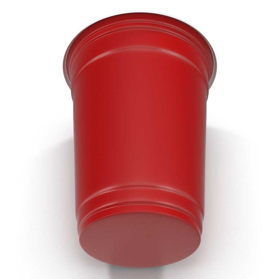 Solo Cup royalty-free 3d model - Preview no. 7