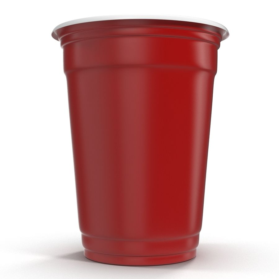 Solo Cup royalty-free 3d model - Preview no. 4