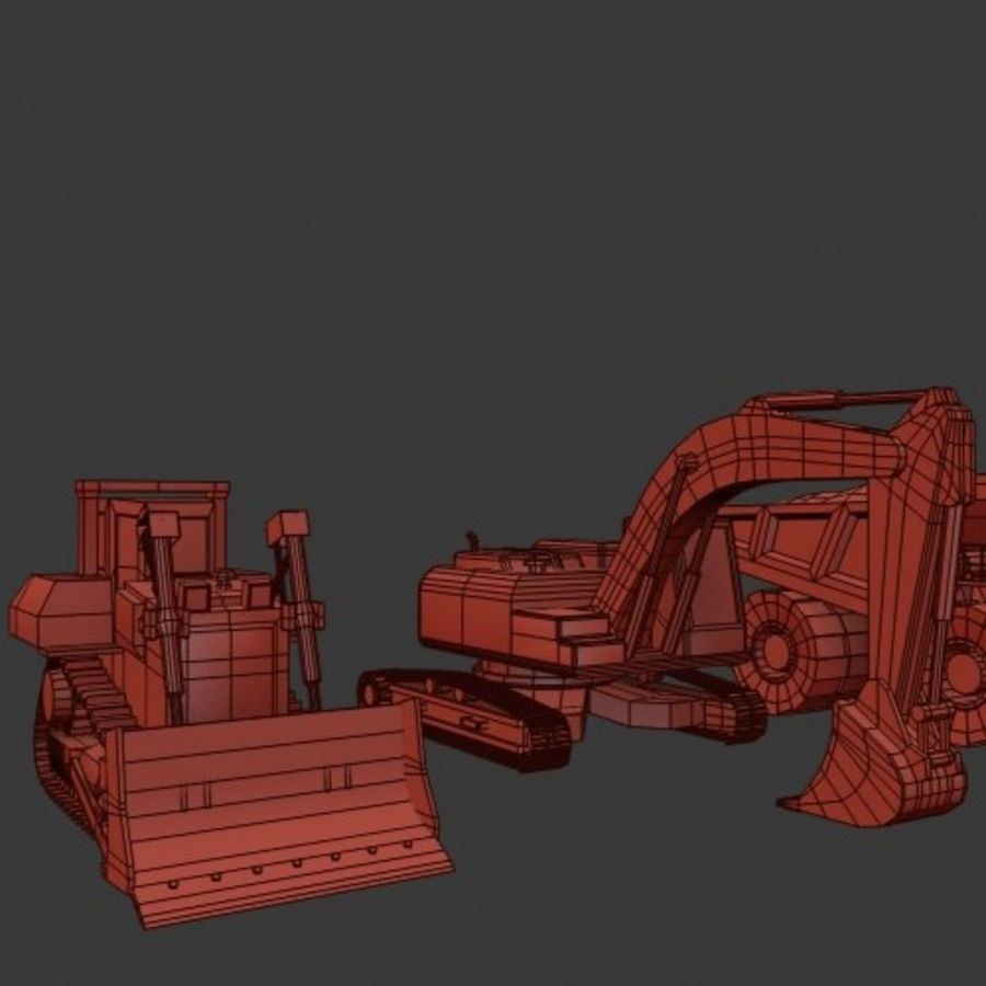 Industrial Vehicles Pack royalty-free 3d model - Preview no. 19