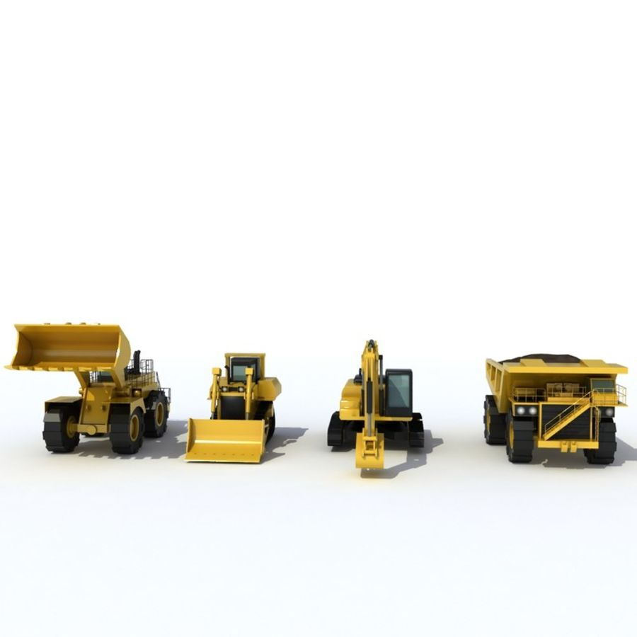Industrial Vehicles Pack royalty-free 3d model - Preview no. 6