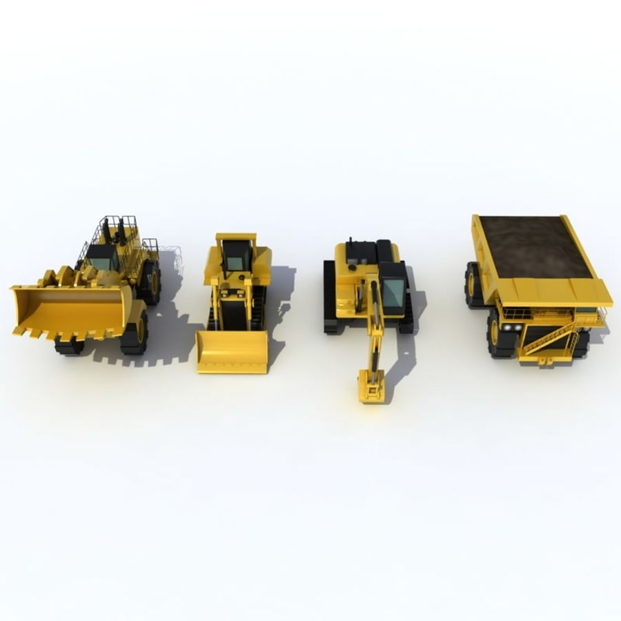 Industrial Vehicles Pack royalty-free 3d model - Preview no. 1