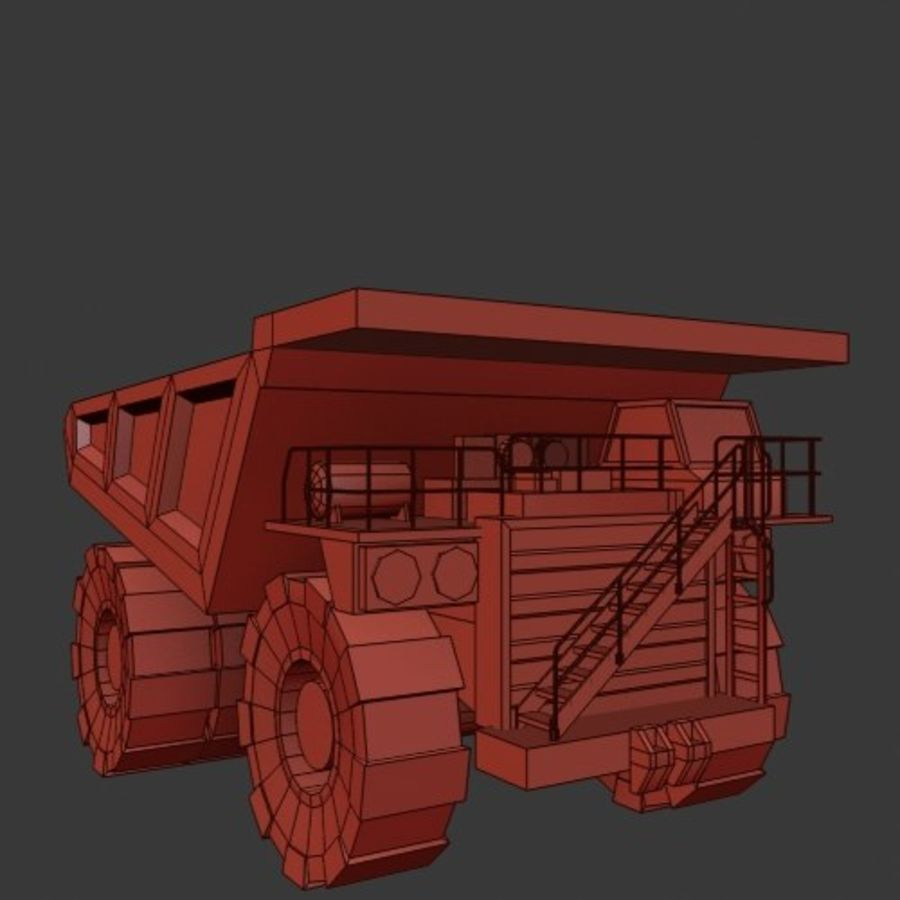 Industrial Vehicles Pack royalty-free 3d model - Preview no. 22