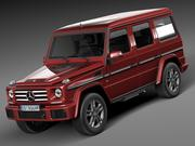 Mercedes-Benz G-Klass 2016 3d model