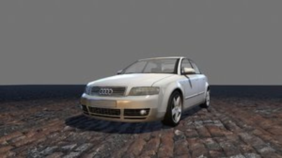 araba royalty-free 3d model - Preview no. 1