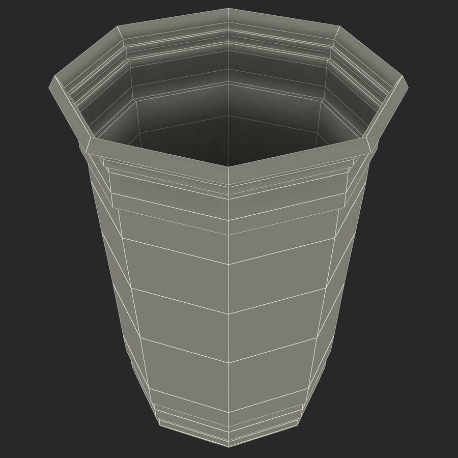 Solo plastica trasparente tazza royalty-free 3d model - Preview no. 16