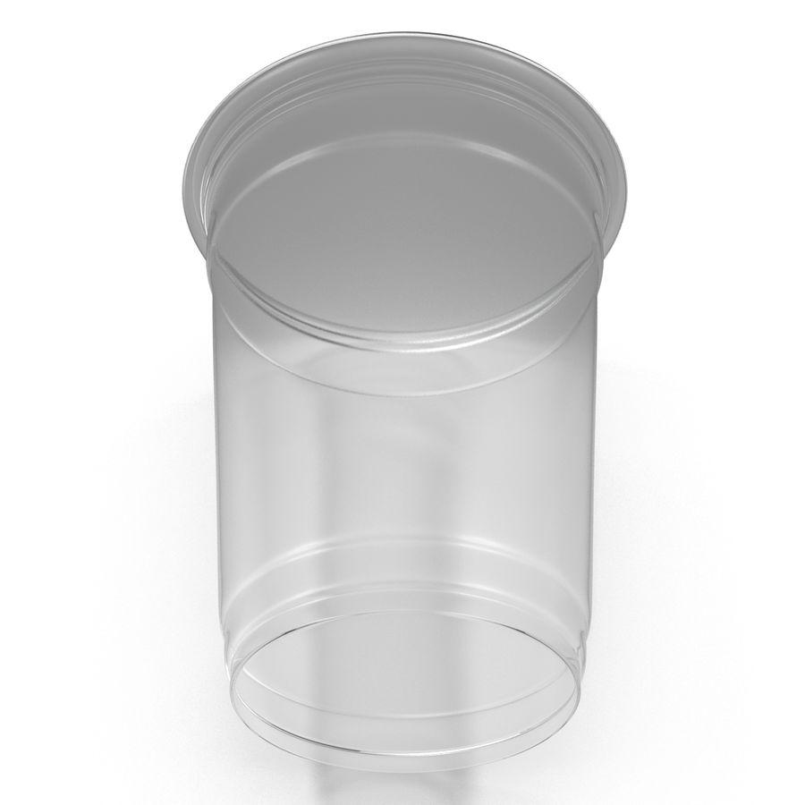 Solo plastica trasparente tazza royalty-free 3d model - Preview no. 6
