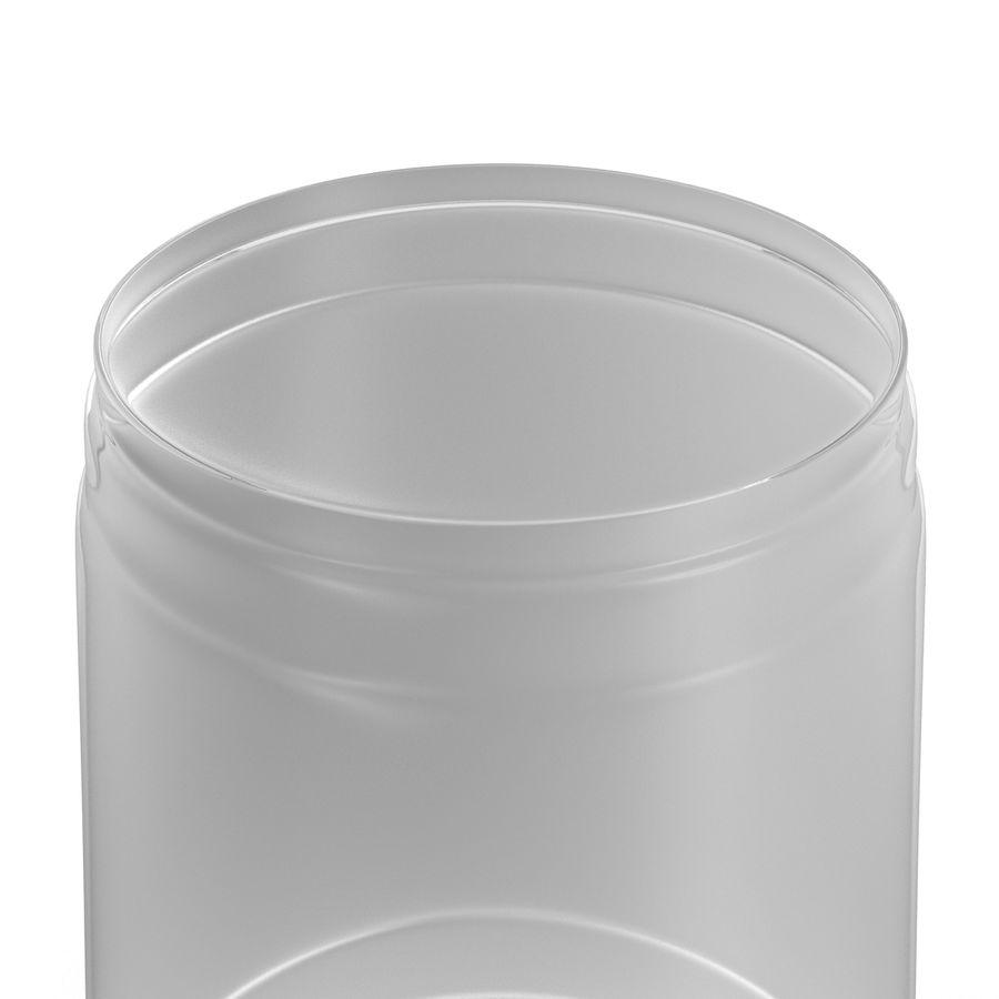 Solo plastica trasparente tazza royalty-free 3d model - Preview no. 10
