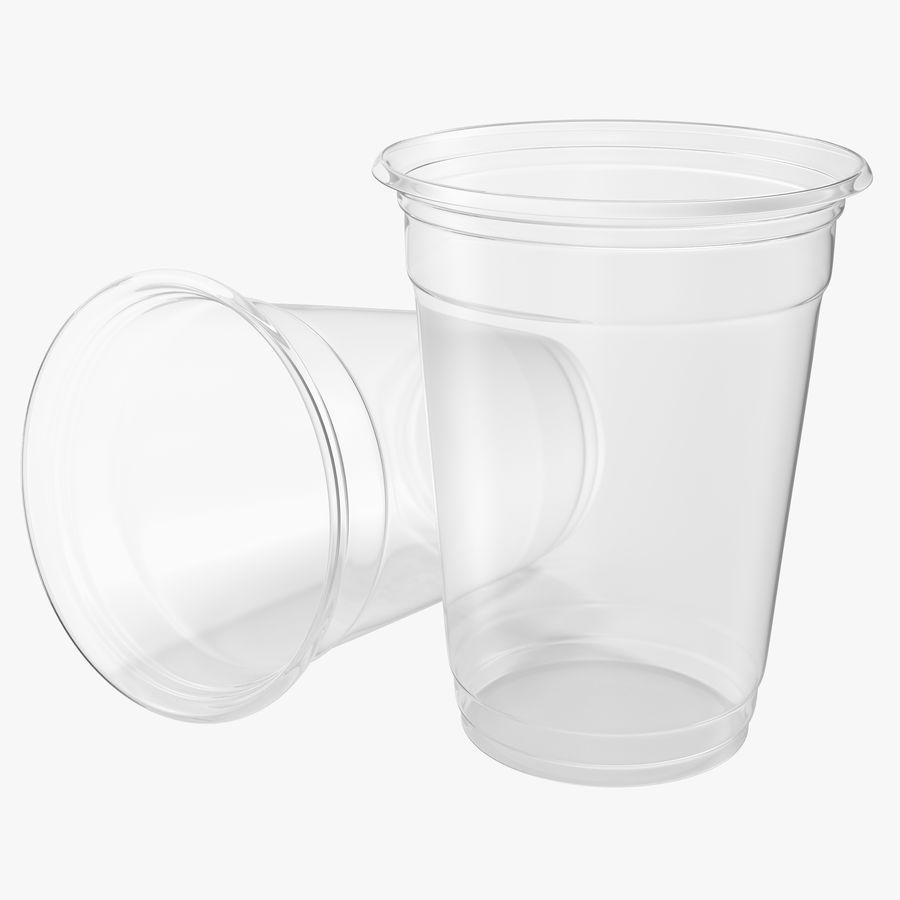 Solo plastica trasparente tazza royalty-free 3d model - Preview no. 1