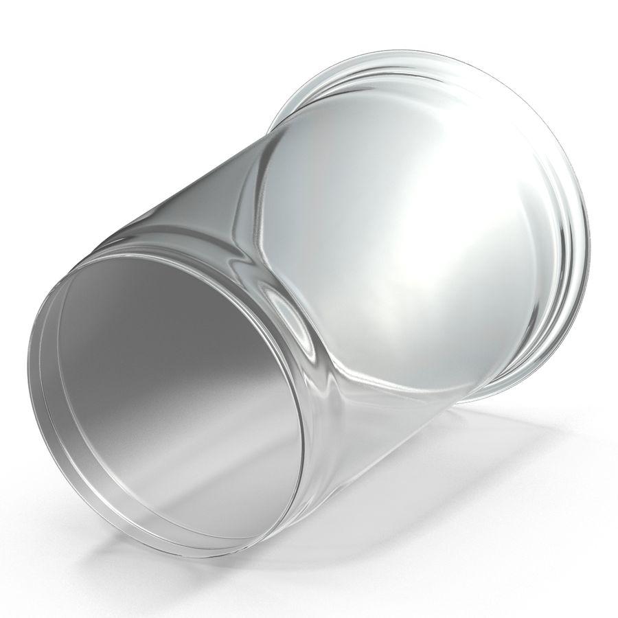 Solo plastica trasparente tazza royalty-free 3d model - Preview no. 5