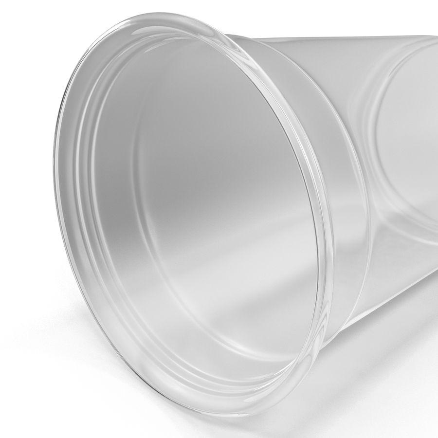Solo plastica trasparente tazza royalty-free 3d model - Preview no. 8