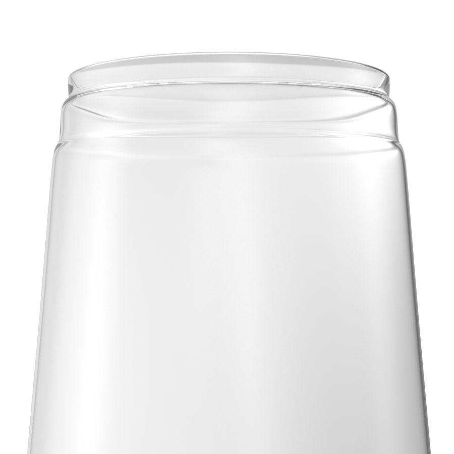 Solo plastica trasparente tazza royalty-free 3d model - Preview no. 11