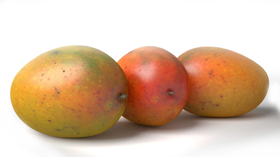 Realistic Mango royalty-free 3d model - Preview no. 1
