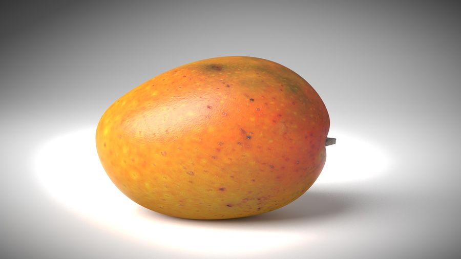 Realistic Mango royalty-free 3d model - Preview no. 2