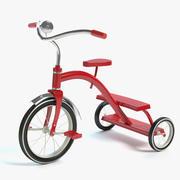 三輪車 3d model