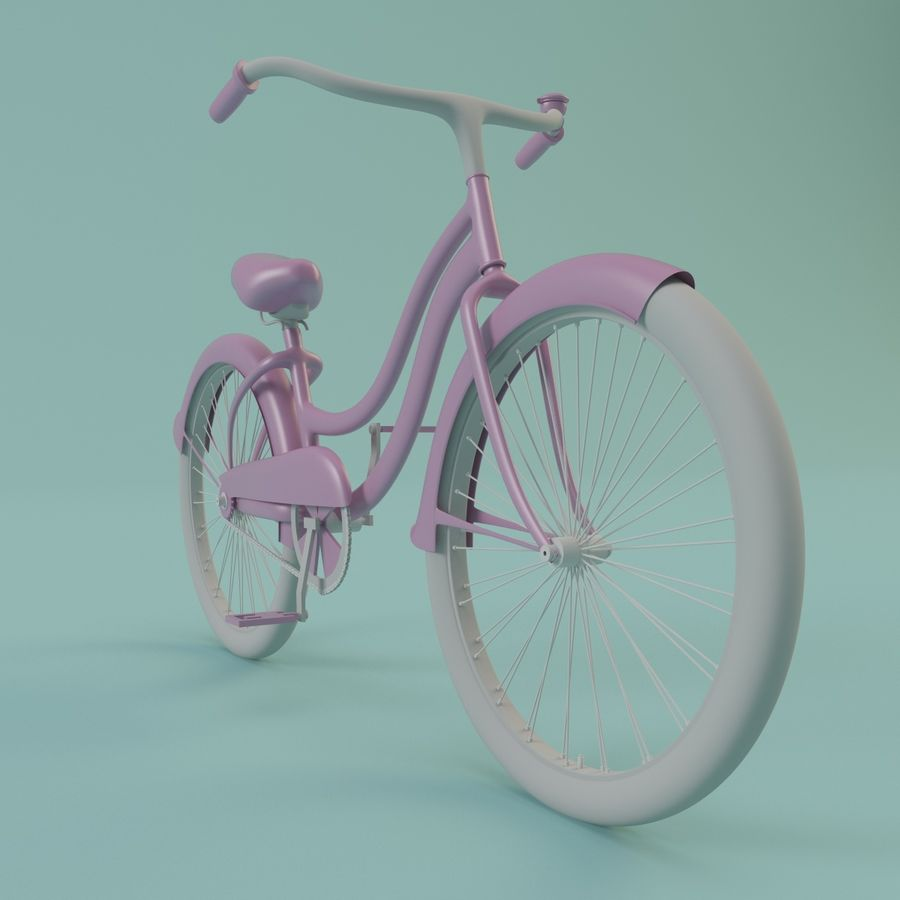 Bicycle royalty-free 3d model - Preview no. 1