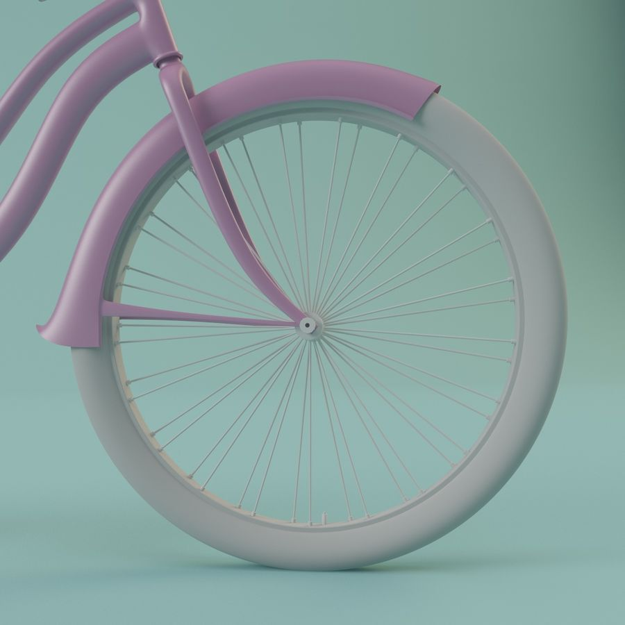 Bicycle royalty-free 3d model - Preview no. 5