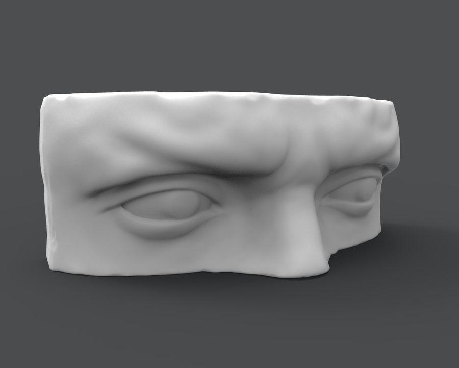 David Eyes royalty-free 3d model - Preview no. 3