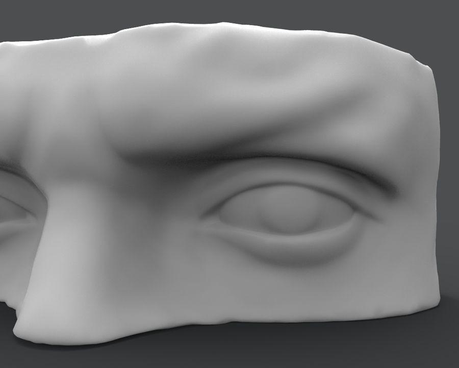David Eyes royalty-free 3d model - Preview no. 4