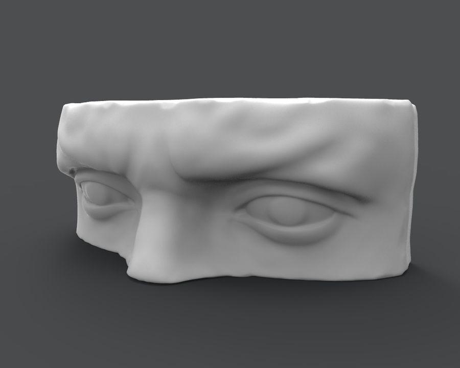 David Eyes royalty-free 3d model - Preview no. 1
