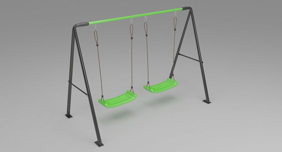 Swing royalty-free 3d model - Preview no. 2