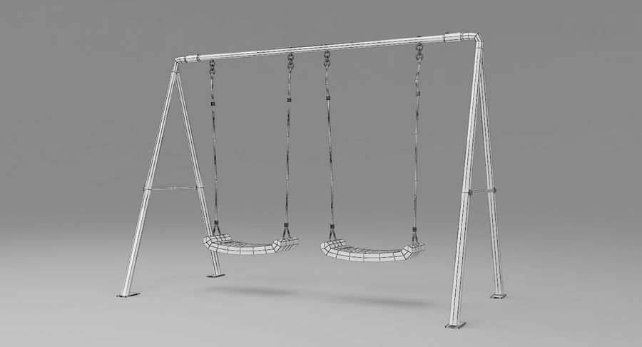 Swing royalty-free 3d model - Preview no. 8