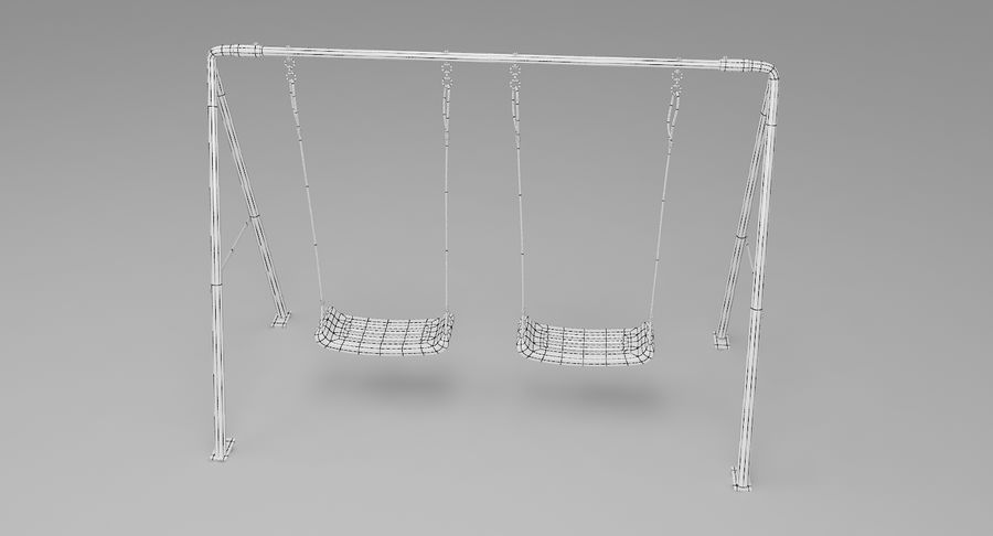 Swing royalty-free 3d model - Preview no. 10
