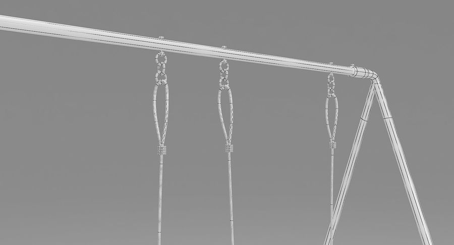 Swing royalty-free 3d model - Preview no. 11