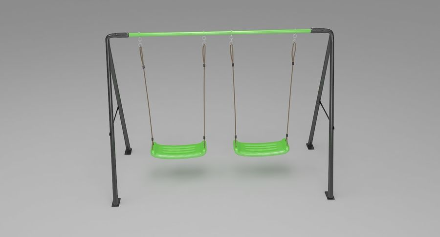 Swing royalty-free 3d model - Preview no. 3