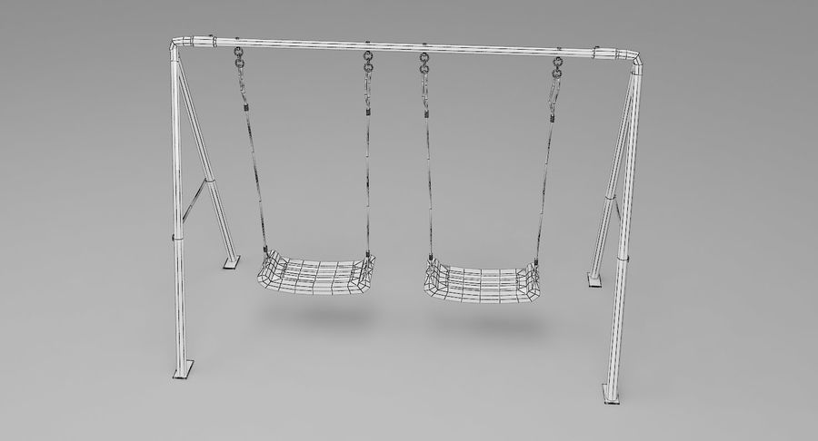 Swing royalty-free 3d model - Preview no. 9